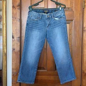 Lucky Brand Sweet Jean Crop Blue Jeans size 8/29
